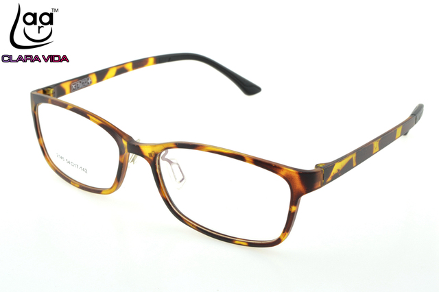 =ONLY 7G= Leopard TR Ultra Light Memory Nerd Glasses Frame Custom Made Optical Prescription myopia Glasses Photochromic -1 To -6