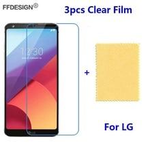 3pcs Clear LCD Screen Protector For LG G6 G5 G4 G3 G2 mini V10 V20 V30 Protectiv
