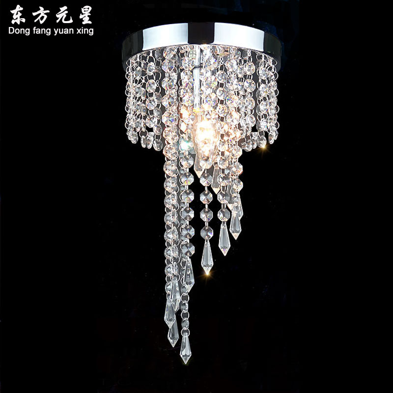 LED crystal chandelier lamp aisle lights Energy-Saving porch lights round corridor led hanging lighting  fixturesLED crystal chandelier lamp aisle lights Energy-Saving porch lights round corridor led hanging lighting  fixtures