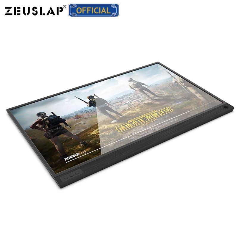 Ultracienkich 15.6 cal wąska granica ekran ips 1080 p ps3 ps4 przełącznik do gier przenośny monitor hdr