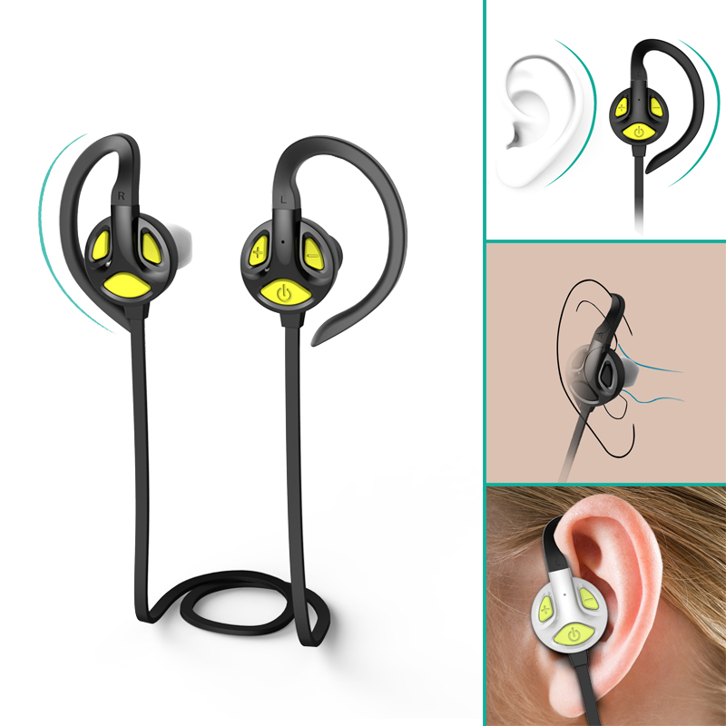 Gdlyl HiFi Stereo Bluetooth Earphone Sports Running Bluetooth Earbud Wireless Earphones Noise Cancelling Auriculares for Xiaomi