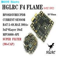 High Quality F4 FLAME Race Spec STM32F405 Flight Control Built In BETAFLIGHT OSD 5V BEC PDB