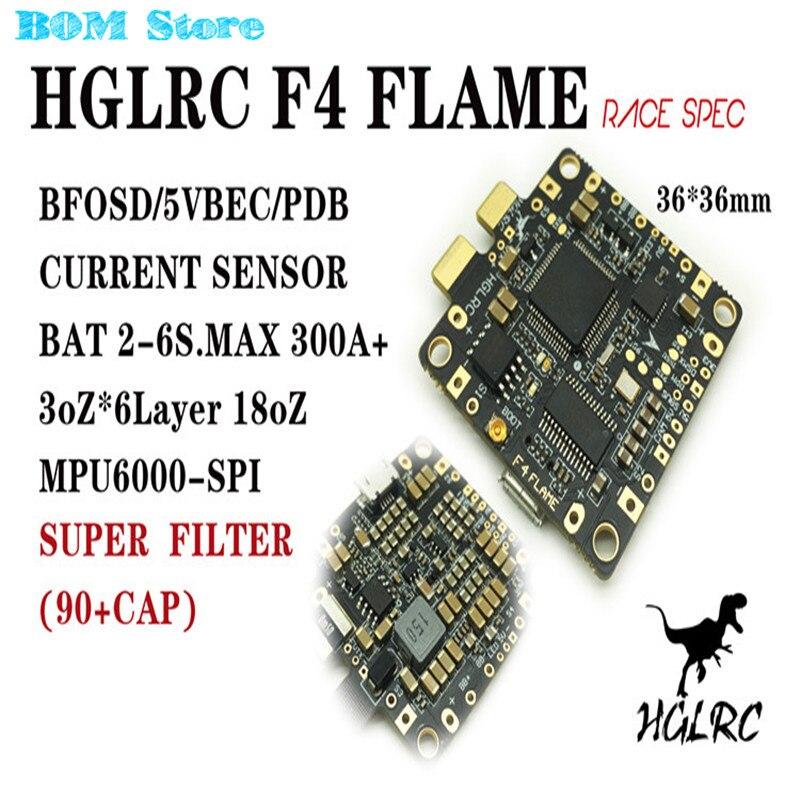 High Quality F4 FLAME Race Spec STM32F405 Flight Control Built-in BETAFLIGHT OSD 5V BEC PDB Current Sensor For RC Multicopter f3 v4 flight control board aio 25mw 200mw 600mw switchable transmitter osd bec pdb current sensor