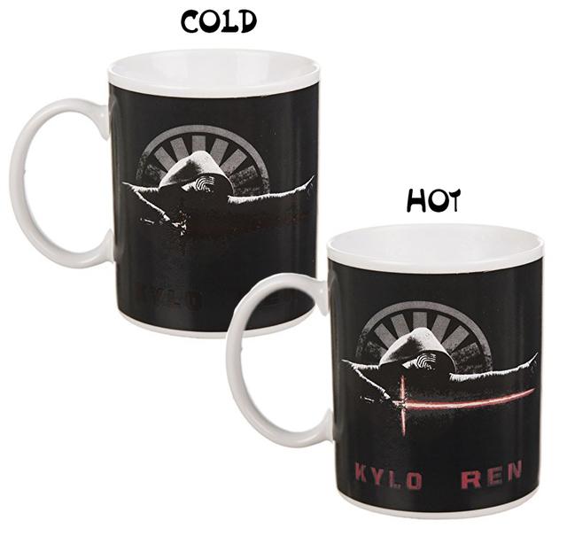 Star Wars Kylo Ren Heat Change Mug/Coffee Cup