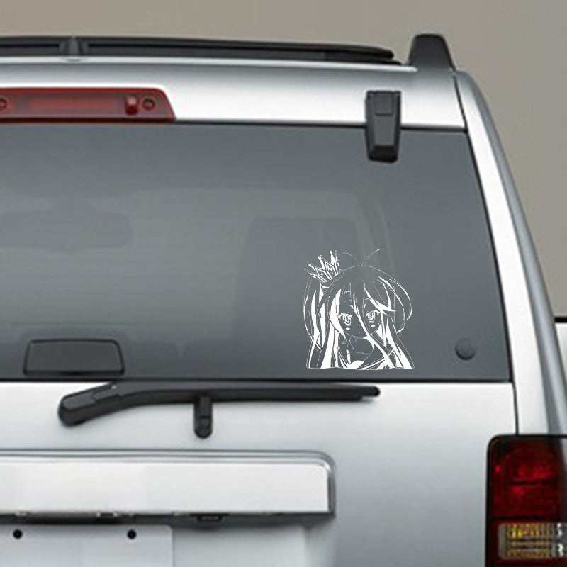 ANIME GIRL GAMER  car sticker