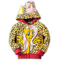 Sale Spring Autume Children's Leopard Pony Sweatshirt for Girls Hoodies Kids Long Sleeve Jackets Clothes Girl Hoody Sweatshirts
