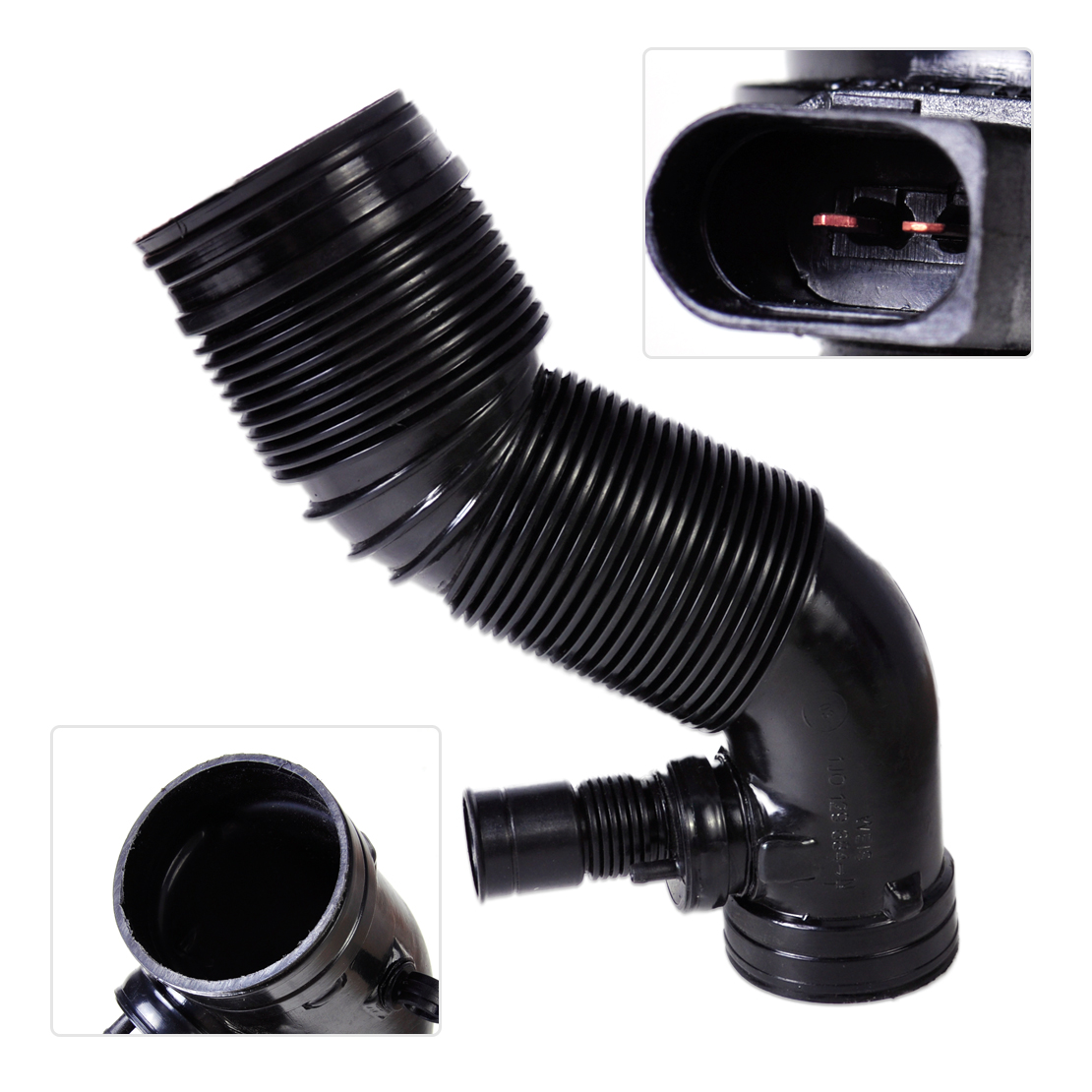 New Air Intake Hose Pipe 1J0 129 684 NT 1J0129684CG Fit for VW Golf MK4 Bora 1998 1999 2000 2001 2002 2003 2004 2005 For Audi A3