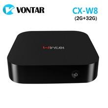 [Véritable] Wintel CX-W8 Mini PC Windows 8.1 Android 4.4 Double OS avec 2 GB/32 GB Intel Atom Z3735F W8 Portable Pour TV Téléphone Tablet