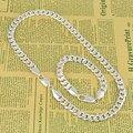 new 2016 fashion brand hot pulseiras colar femininas bijuterias siver plated wedding jewelry sets for women menS33