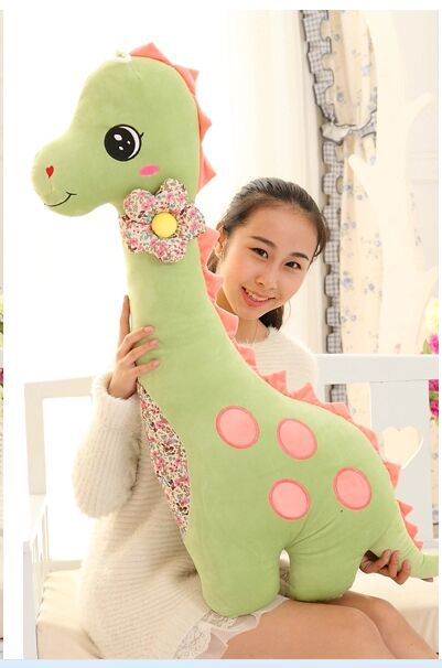 big light green lovely dinosaur toy new plush dinosaur pillow doll gift about 100cm 0055