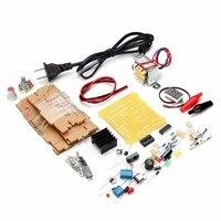 Electric Unit High Quality US Plug 110V DIY LM317 Adjustable Voltage Power Supply Board Kit 11