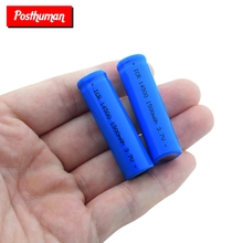 1/2/4/6/8/10x ICR 14500 1500mah Li-ion Rechargeable Batteries 3.7V Volt Lithium Battery For Camera Torch Toy With Case Box