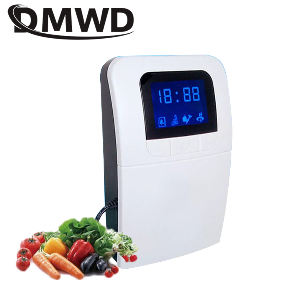 DMWD Portable Ozone Generator Electric ozonator ionizator Air Purifier Disinfector Fruit Vegetable Water food Sterilizer Machine