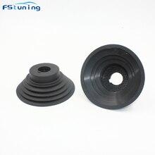 FSTUNING 1 шт. водонепроницаемый HID светодиодный автомобильный пылезащитный чехол для H4 H7 H8 H9 H11 9005 9006 резиновый пылезащитный чехол для фары