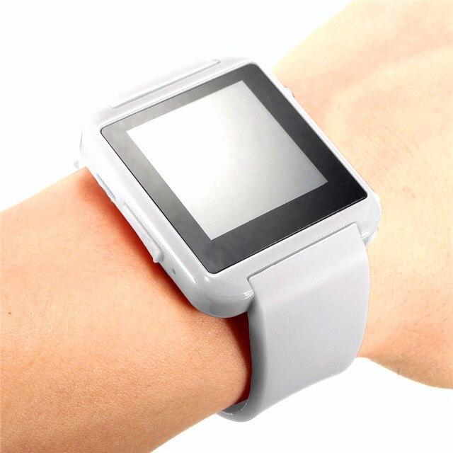 7f6df042e8084 X8 bluetooth smart watch reloj de pulsera deportivo de teléfono compañero  de salud usable monitor cardíaco