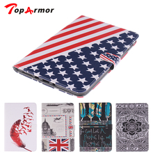 Fashion TopArmor Leather Stand Case Cover For Samsung Galaxy Tab A 8.0 T350 T355 T351 with