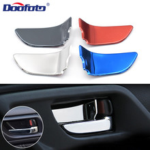 Doofoto 4x Car Door Handle Bowl Cover Protection Sticker For Subaru Forester Outback Legacy XV BRZ WRX Forester Xv Impreza STI стоимость