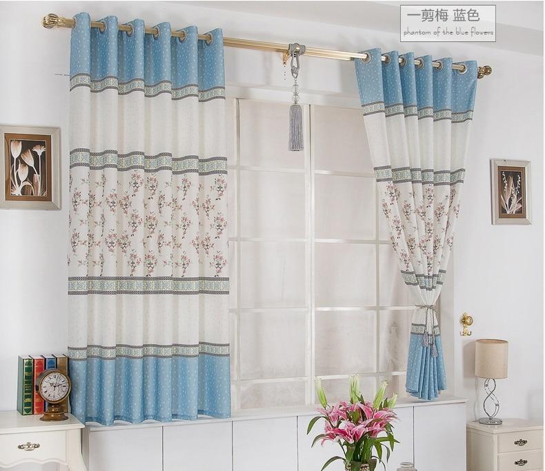 Curtain Finished / Stylish And Elegant Short Curtains