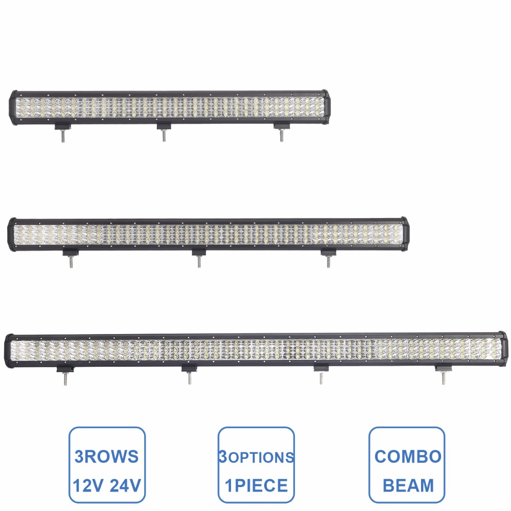 28 37 45 INCH OFFROAD LED WORK LIGHT BAR COMBO BEAM CAR 4WD TRUCK TRACTOR BOAT TRAILER 4X4 SUV ATV 12V 24V DRIVING LAMP LED BAR cree red round 7inch 90w led bar 3d lens spot beam offroad led work light bar trailer car truck 4x4 atv suv auto driving lamp12v