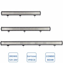28 37 45 INCH OFFROAD LED WORK LIGHT BAR COMBO BEAM CAR 4WD TRUCK TRACTOR BOAT