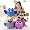 Lovely Stutffed Animal 25cm Kawaii Arifiial Owl Plush Toys Soft Plush Doll 100%PP Cotton Birthday Gift Christmas Gift
