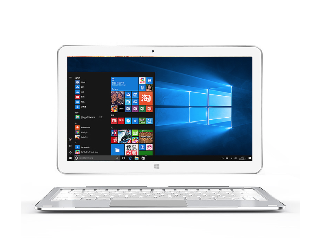 AlldoCube/Cube Mix plus 2 en 1 Tablet PC Windows10 OS 10.6 1920*1080 IPS intel Kabylake 7Y30 Dual Core 4 GB Ram 128 GB Rom