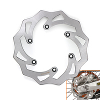 Motorcycle 220mm Rear Brake Disc Rotor For KTM 125 250 350 450 530 EXC EXC F SX SX F XC XCW SMR