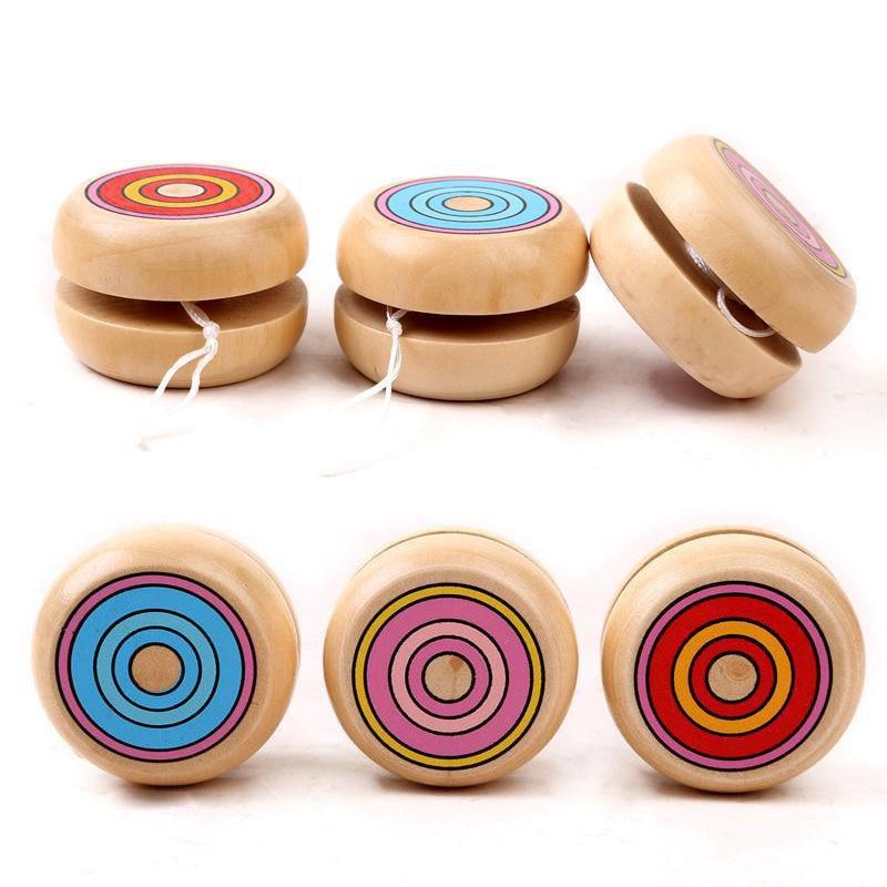 Magic Yoyo Wooden YO-YO Ball Spin Professional Classic Toys Yo Yo For Kids Children Gift Present B0586 игрушка антистресс aojiate toys finger spinner yo yo rv579