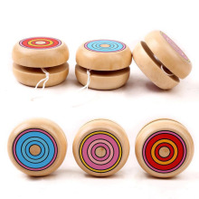 цена Magic Yoyo Wooden YO-YO Ball Spin Professional Classic Toys Yo Yo For Kids Children Gift Present B0586