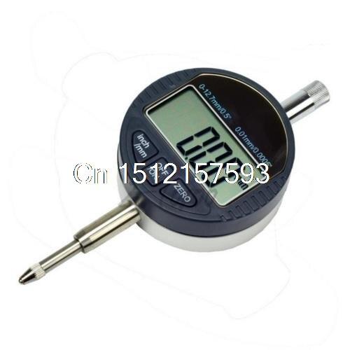 Digital Dial Indicator 0.001mm/.0005 Range 0-12.7mm/1 Gauge 0 001mm 00005 digital indicator range 0 25 4mm 1 gauge