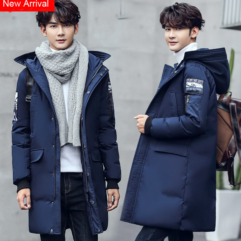 New Arrival Hooded Thicken Men Jackect&Coat Russia Winter Warm Windproof Parkas Down Top Padded Male Outwear High Quality SY0032 2016 new arrival winter high quality men s black velour down