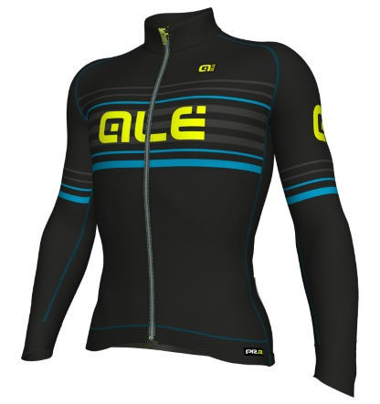 2017 Ale New Black Spring/Autumn Quick Dry Team Cycling Jersey Long Sleeves MTB Riding Clothing Ropa Ciclismo Maillot