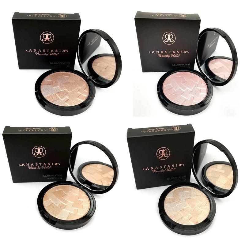 2019 New Original Anastasia Makeup Beverlying Hills Powder Highlighter Face  Make Up Highlighting Sugar Glow Kit