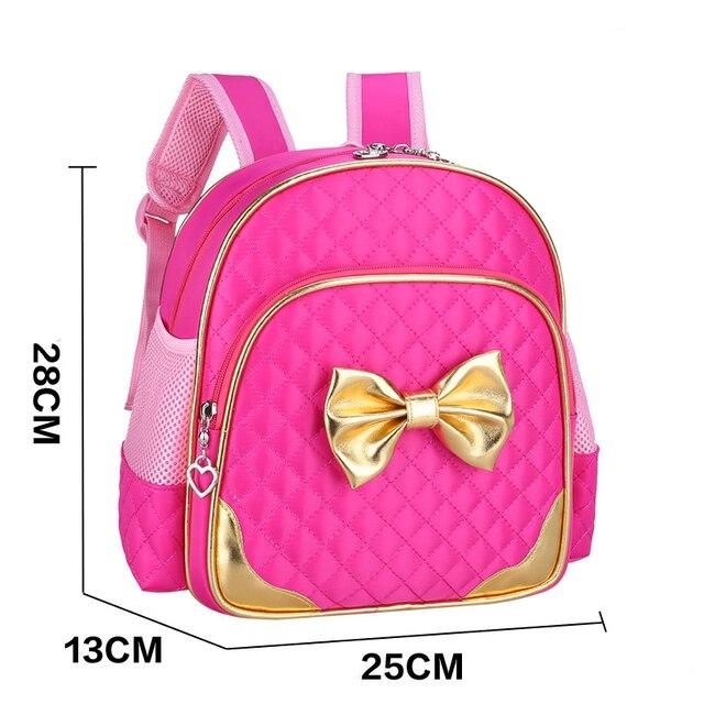 2-7 Years Kindergarten Rucksacks Children School Bag Cartoon Princess Backpacks Girls School Bags Kids Satchel Baby Backpack