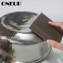 ONEUP губка волшебная для удаления ржавчины и удаления накипи чистая тереть горшок Наждачная губка меламиновая губка кухонные принадлежности очиститель