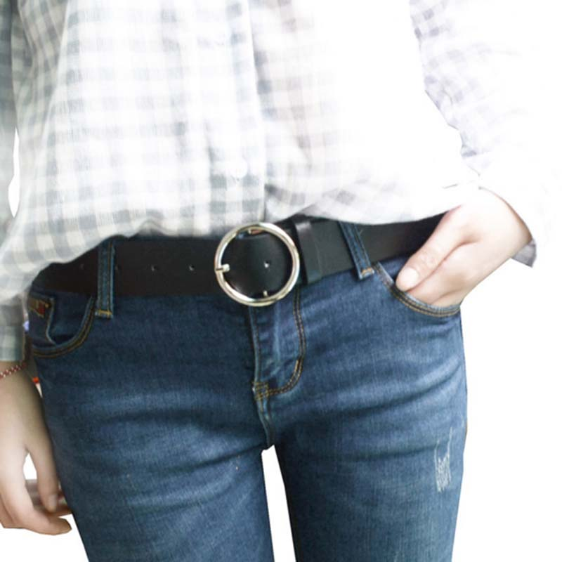 Fashion simple women belts