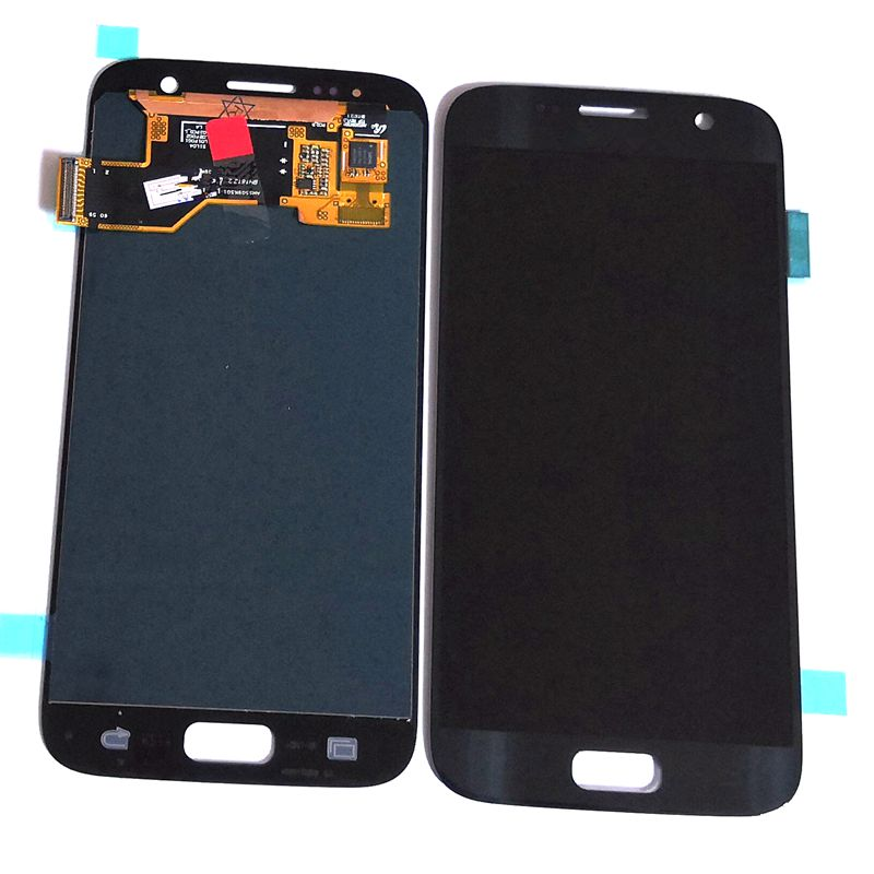 5.1 Highbirdfly For Samsung Galaxy S7 SM G930F G930F G930FD G930A Lcd Screen+display+Touch Glass Assembly Replacement Amoled