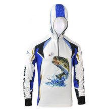 Ultra-Light Breathable Outdoor Fishing Hoodies Clothing Long Sleeves Quick Dry Uv Protection Shirt Anti-UV Fishing Clothes