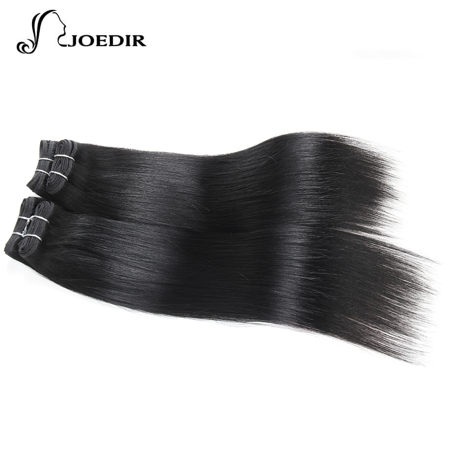 Joedir Pre-colored Jerrry Curly Human Hair Bundles 4 Pcs One Pack 190 Gram Malaysian Hair Color 4# Non-remy Hair Attractive Designs; Hair Weaves Human Hair Weaves