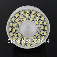 30 шт. белый/теплый белый движения PIR Сенсор лампы AC 85 265 В светодио дный лампы 4 Вт Авто Смарт Инфракрасный E27
