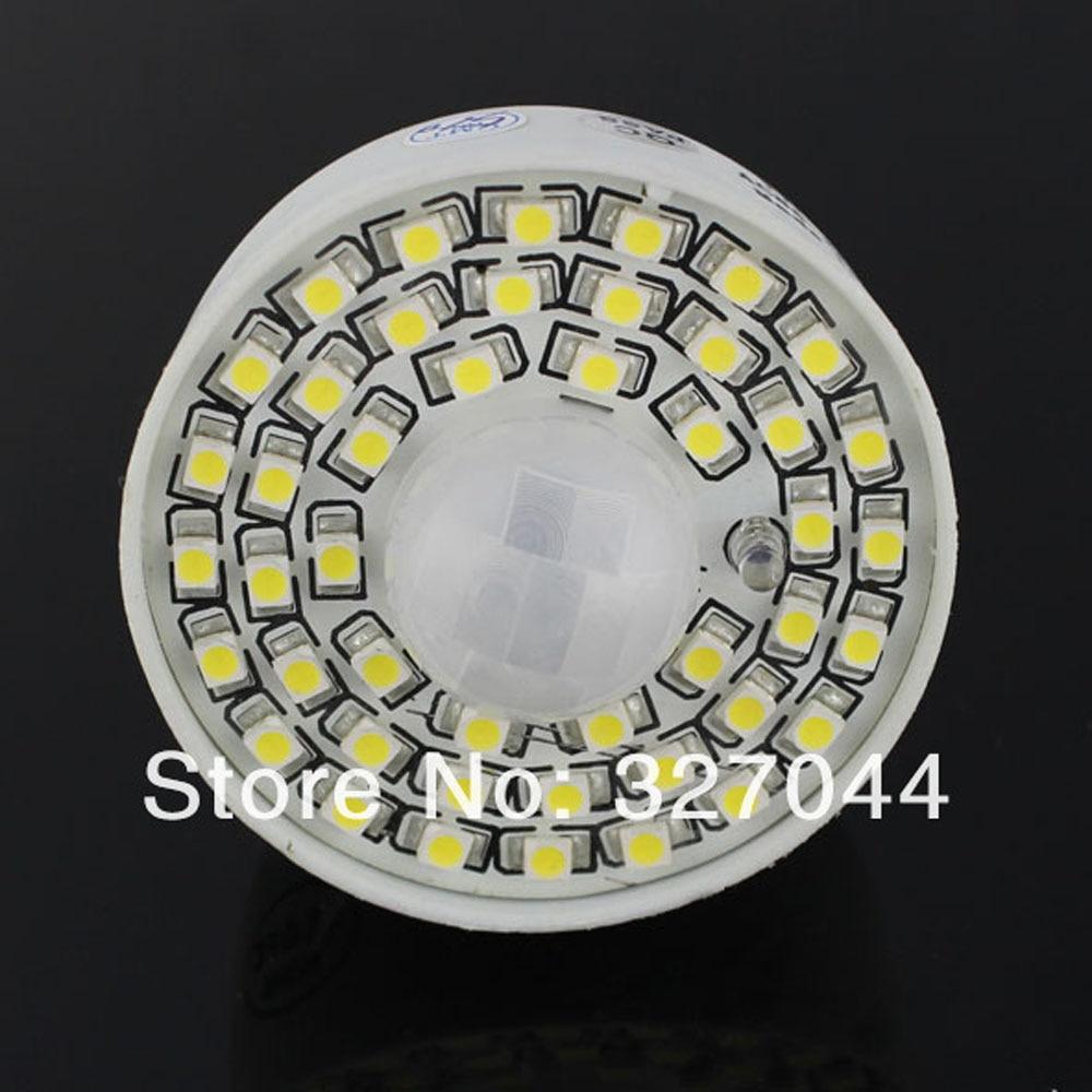 30 pièces blanc/chaud blanc PIR capteur de mouvement lampe AC 85-265 V Led ampoule 4 w Auto Smart infrarouge E27