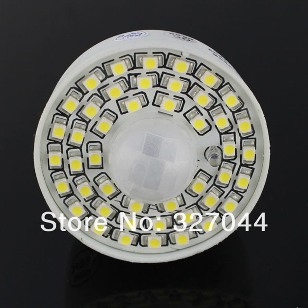 30pcs white/warm white PIR Motion Sensor Lamp AC 85 265V Led Bulb 4w Auto Smart Infrared E27