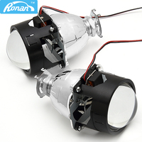 2PCS 2 5inch Ultimate WST Bi Xenon HID Projector Lens Fits H4 H7 Headlight Use H1