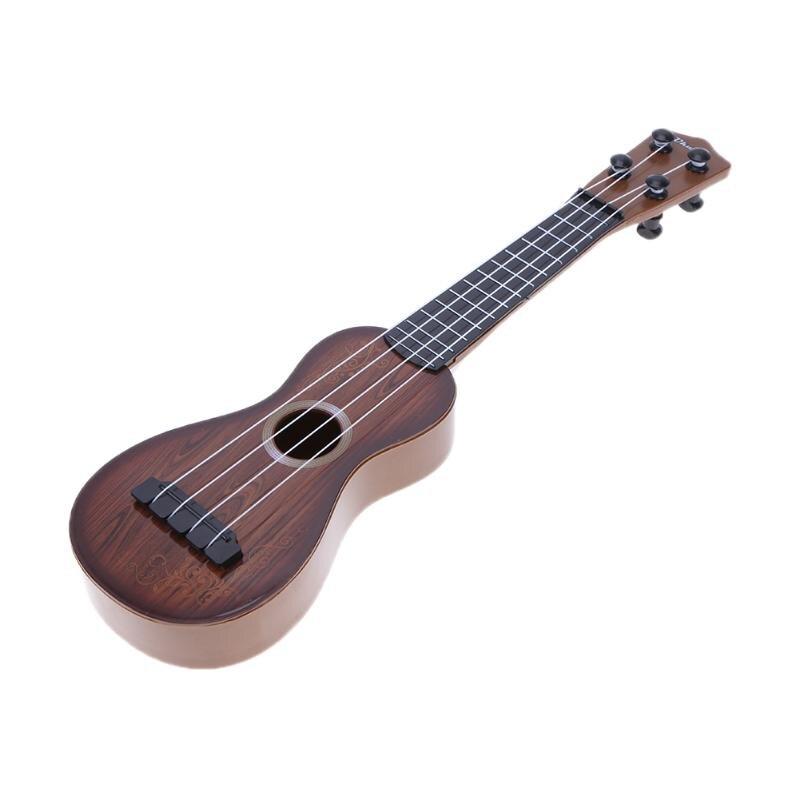 купить Mini Ukulele Simulation Guitar Baby Kids Musical Toy Instruments Children Pretend Play Game Music Interest Development Toy Gift по цене 301.91 рублей
