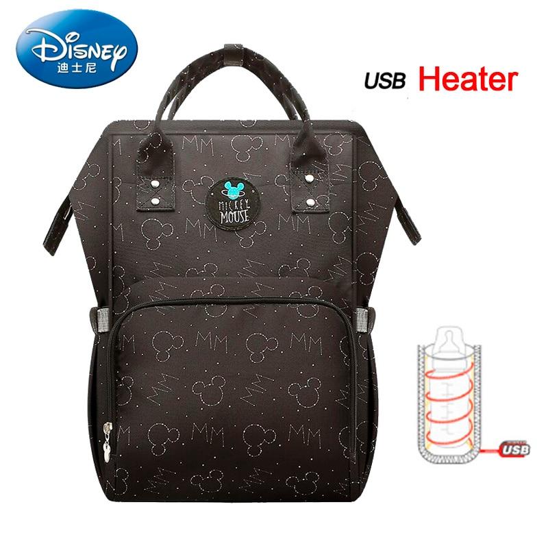 Disney Nappy sac momie MaternityTravel sac à dos grande capacité bébé sac poussette sac à langer pour bébé soin isolation sacs