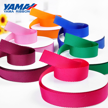 YAMA 50Yards/roll Polyester Petersham Ribbon 25mm 38mm Ribbons for Wedding Crafts Hand Made Diy Gift off white color gold purl twill ribbon 1 1 2 38mm handmade wedding diy crafts tape