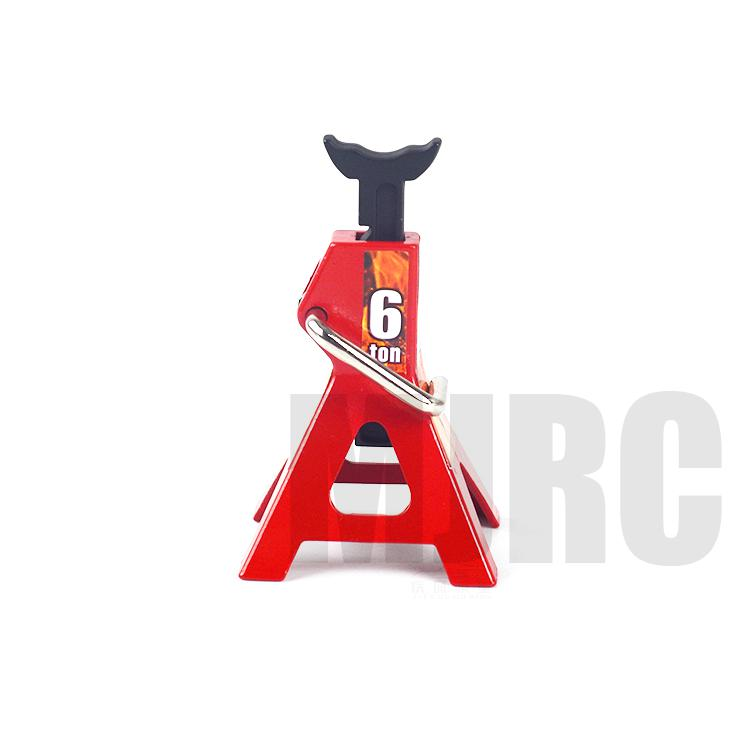 Image 5 - 2pcs/set RC Cars Metal Jack Stands Repairing Tool for 1/10 RC Climbing Car Crawler Diecasts Vehicles Model Parts Accessories ToyParts & Accessories   -