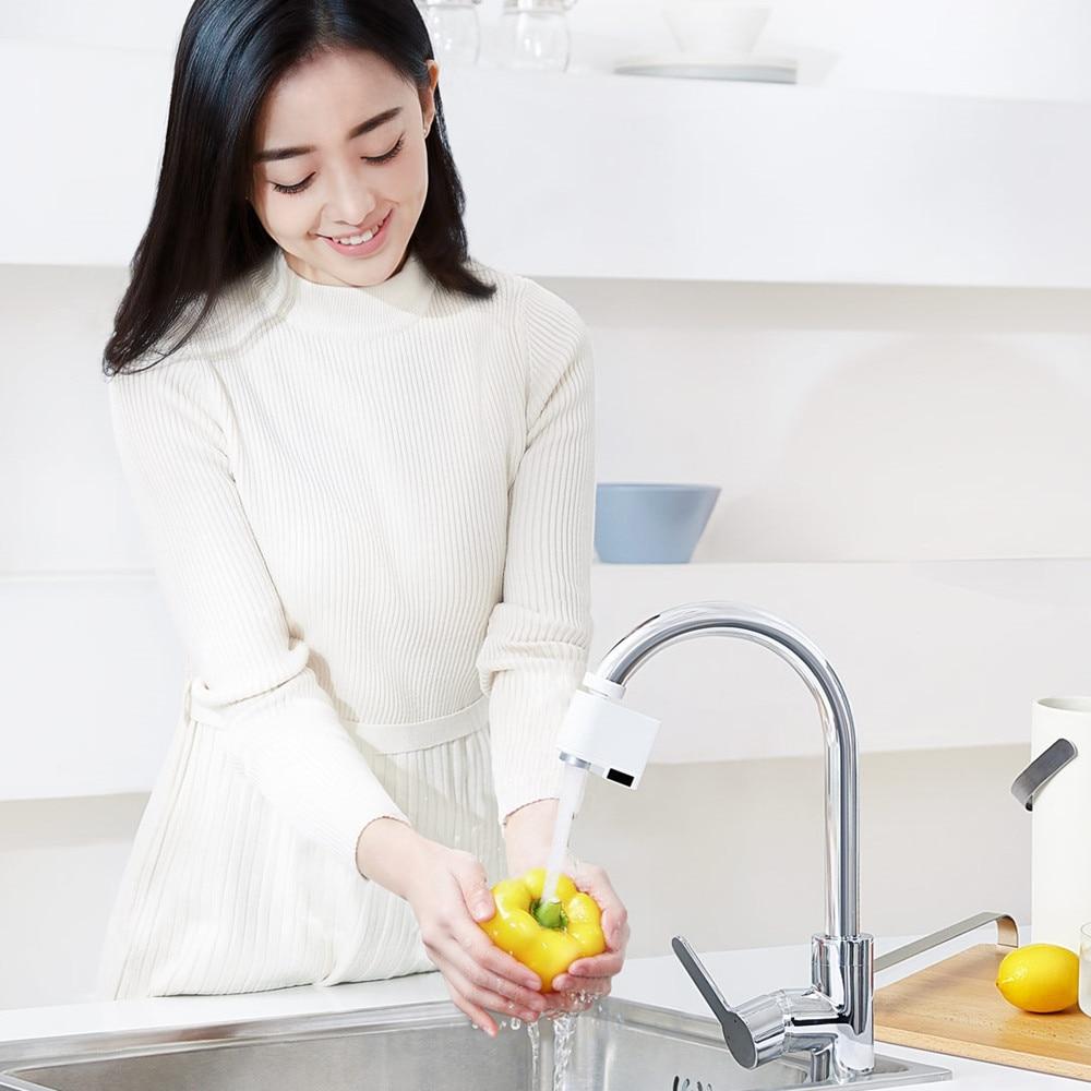 Original Xiaomi Zajia Induction économiseur d'eau débordement intelligent robinet capteur infrarouge eau dispositif d'économie d'énergie cuisine buse robinet