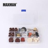 MAXMAN 256 Stücke Holz Metall Gravur Elektrische Drehwerkzeug Zubehör für Dremel Bit Set Schleiflack Schneiden Blatt