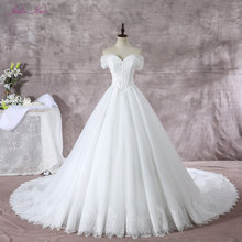 JULIA KUI Vintage A-Line Wedding Dress Bride Dresses